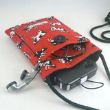 Mini Purse with Tossed Cows on Red 2