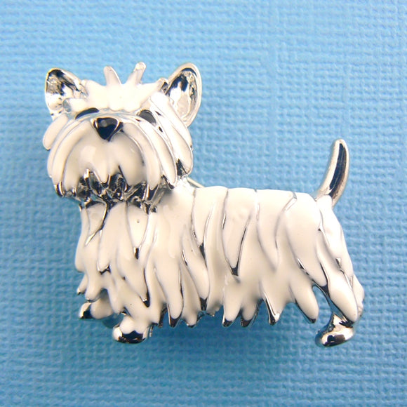 Westie Terrier Dog Enamel Pin
