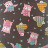 Owls & Hearts Small Square Purse