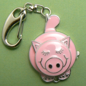 Pink Pig Pocket Watch