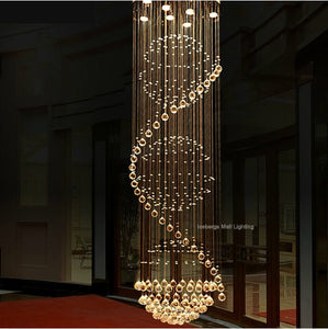 Luxurious Crystal LED Ceiling Light