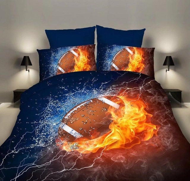 American Football Bedding Set