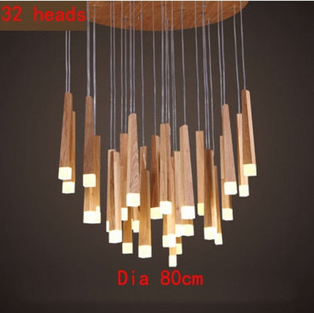 Ark - Abstract Wooden Hanging Light