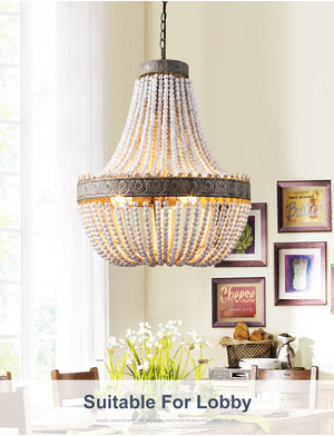 Retro American Country Style Chandelier