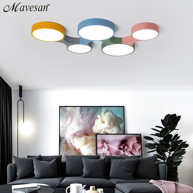 Colorful Ceiling Light