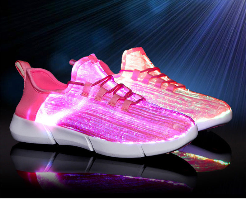 LED Fiber Optic Sneakers