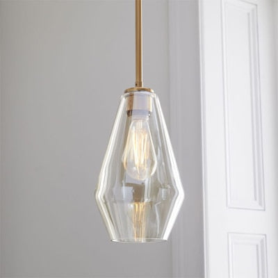 Minimalist Glass Pendant Lights