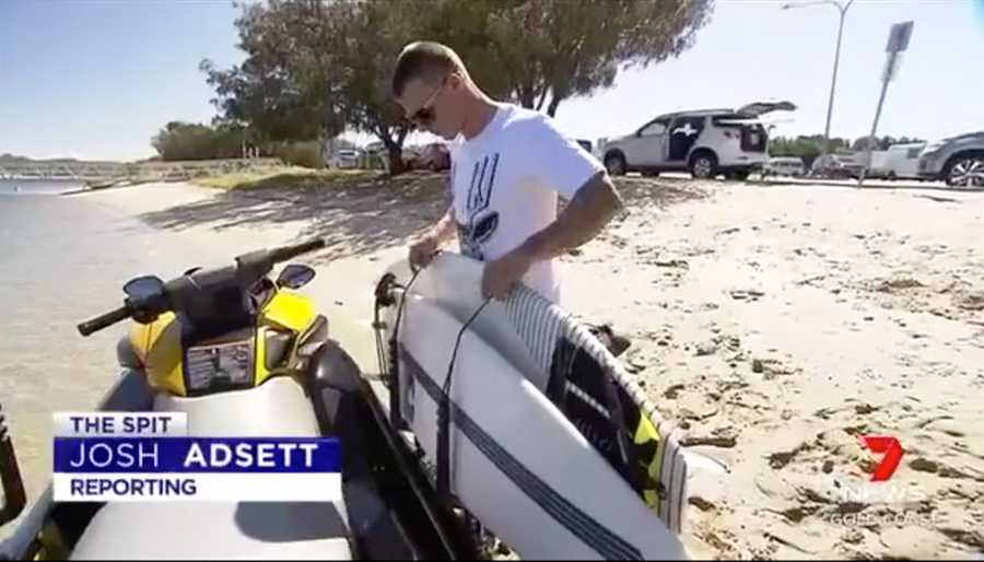 Sea doo board rack