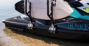 Board carrier for jet ski