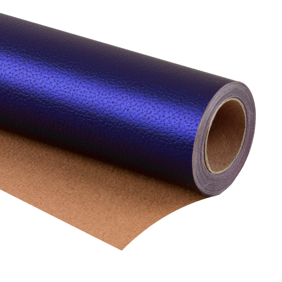 Wrapaholic-Matte-Navy-Gift-Wrapping-Paper- Navy-Blue-Lychee-Leather-Grain-1