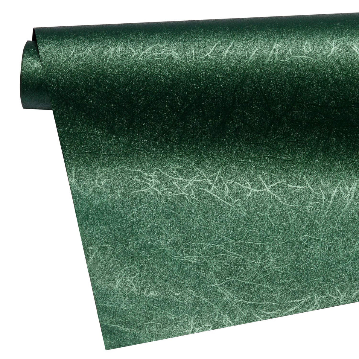 WRAPAHOLIC-Jewelry-Green-Gift-Wrapping-Paper-Dark-Green-Silking-Grain-4
