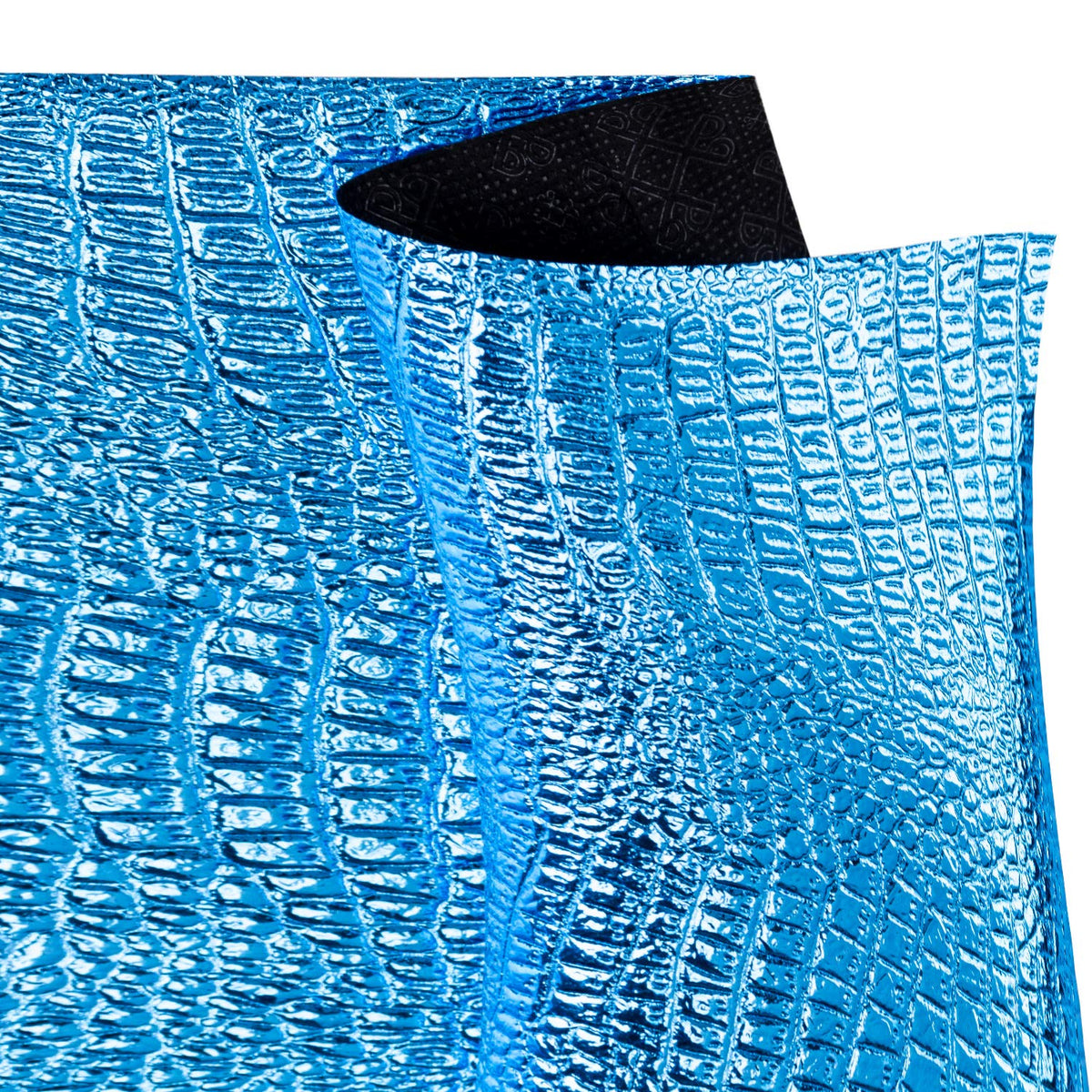 Wrapaholic-Metalic-Gift-Wrapping-Paper-Royal-Blue-Snakeskin-Grain-1