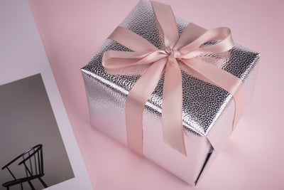 Wrapaholic-Metalic-Gift-Wrapping-Paper-Gross-Silver-Lychee-Leather-Grain-3