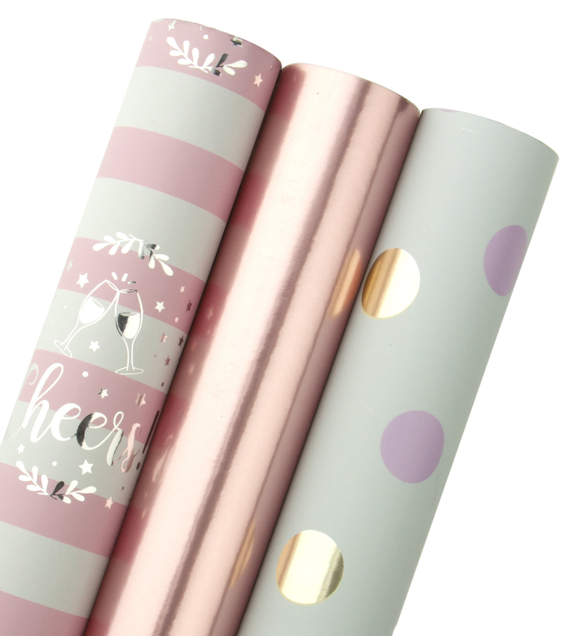 WRAPAHOLIC-Rose-Gold-and-Pink-Set-Gift-Wrapping-Paper-Roll-1