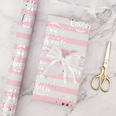 WRAPAHOLIC-Rose-Gold-and-Pink-Set-Gift-Wrapping-Paper-Roll-3