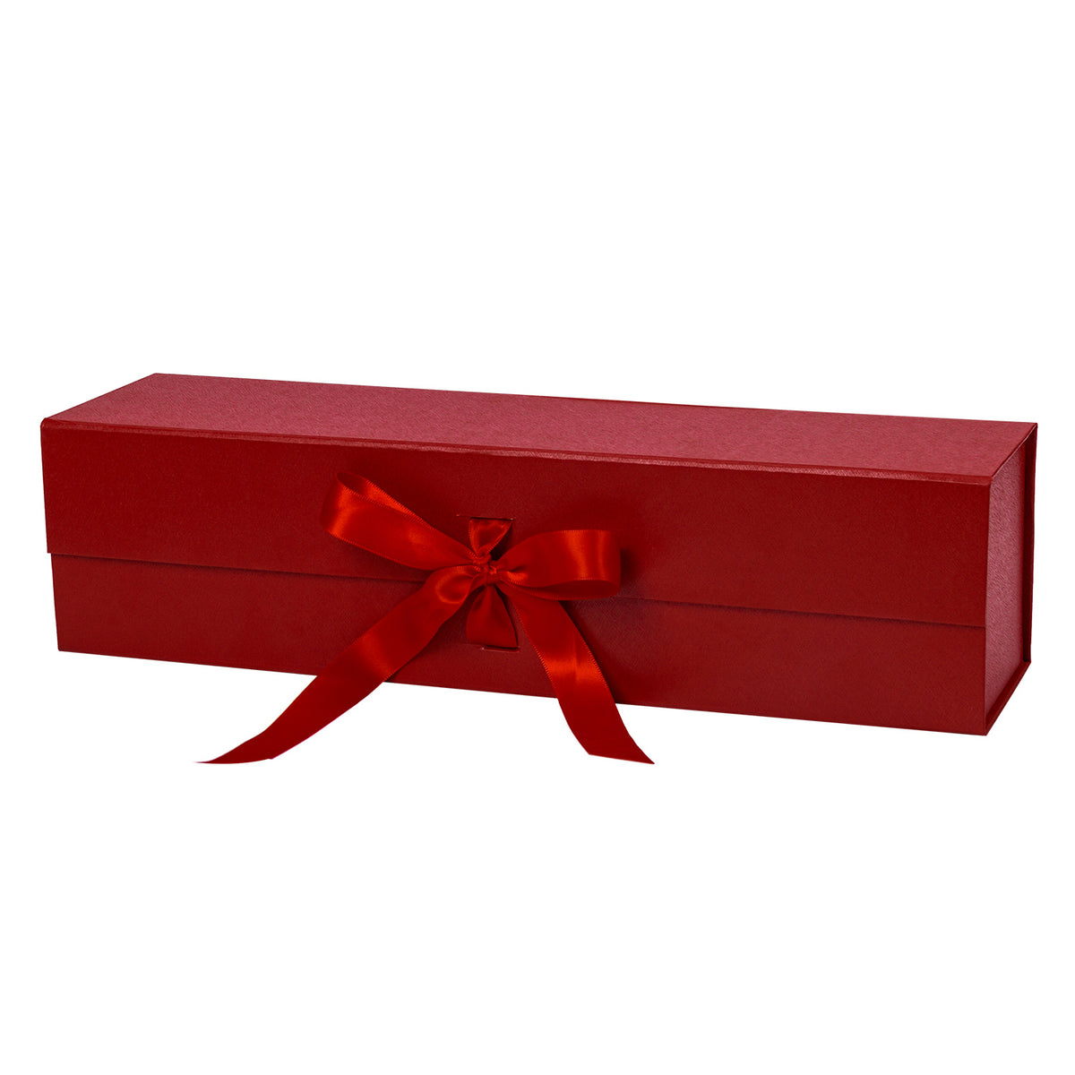 Wrapaholic-2Pcs-Red-Gift- Box-with-Satin-Ribbon-Gift-Boxes-with-Magnetic-Closure-1