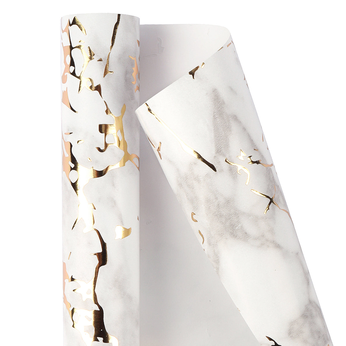 Wrapaholic -3-Different-Marble-Design-Wrapping-Paper-Roll-(14.4 sq. ft.TTL.)-4