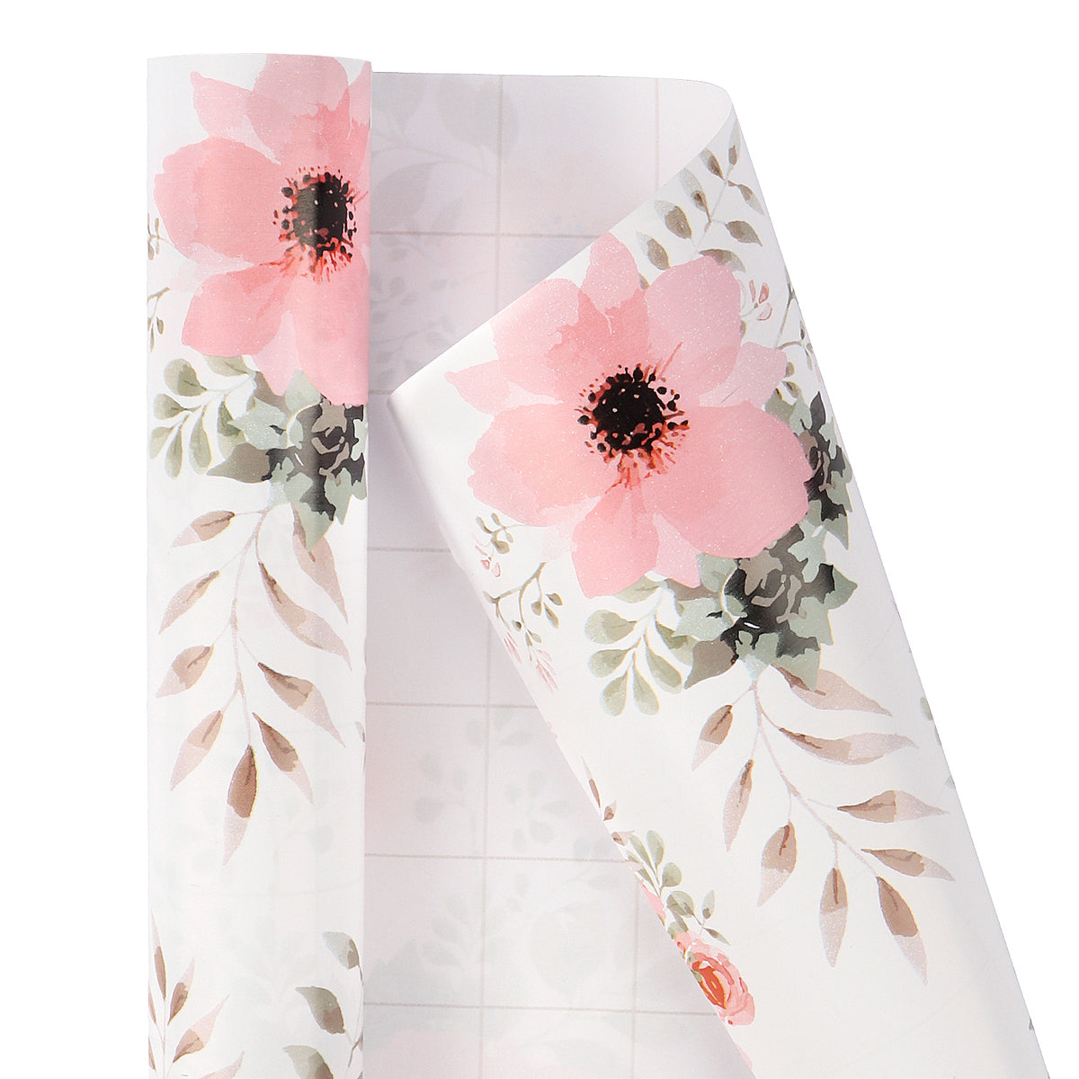 Wrapaholic-3 Different-Floral- and-Butterfly-Design-Wrapping-Paper -Roll-(14.4 sq. ft.TTL.)-4