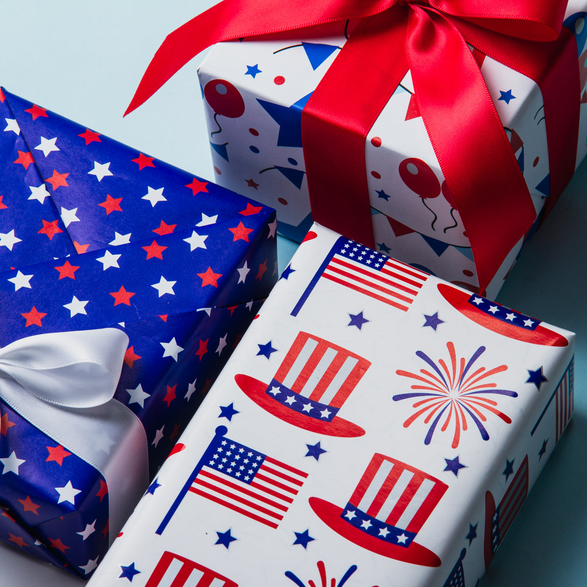 Wrapaholic-American-Flag-Wrapping-Paper-Sheets-3