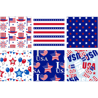 Wrapaholic-American-Flag-Wrapping-Paper-Sheets-4