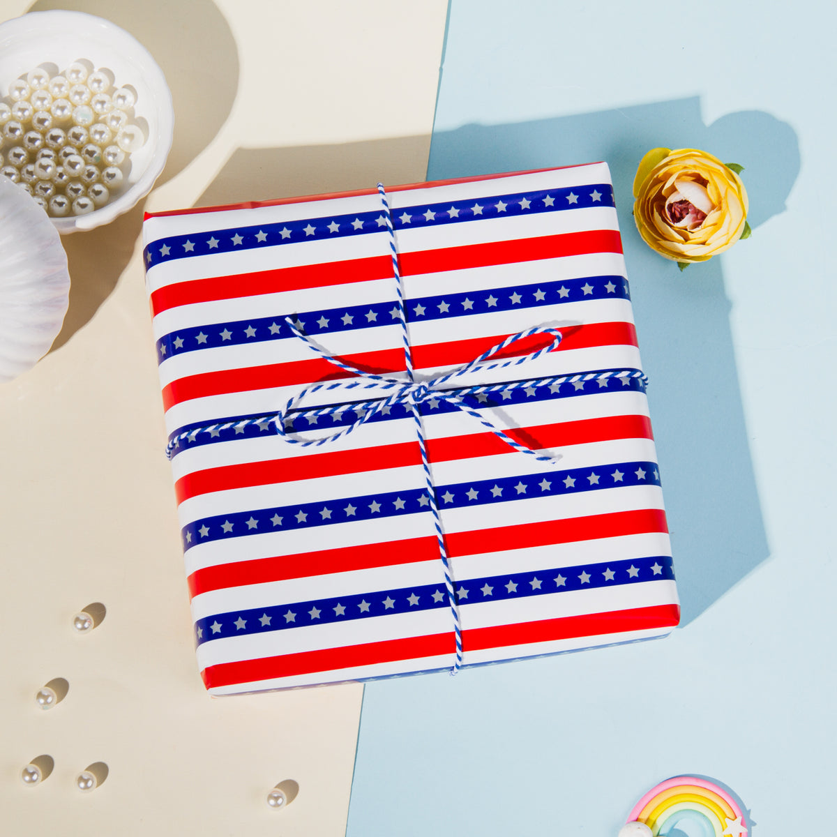Wrapaholic-American-Flag-Wrapping-Paper-Sheets-5
