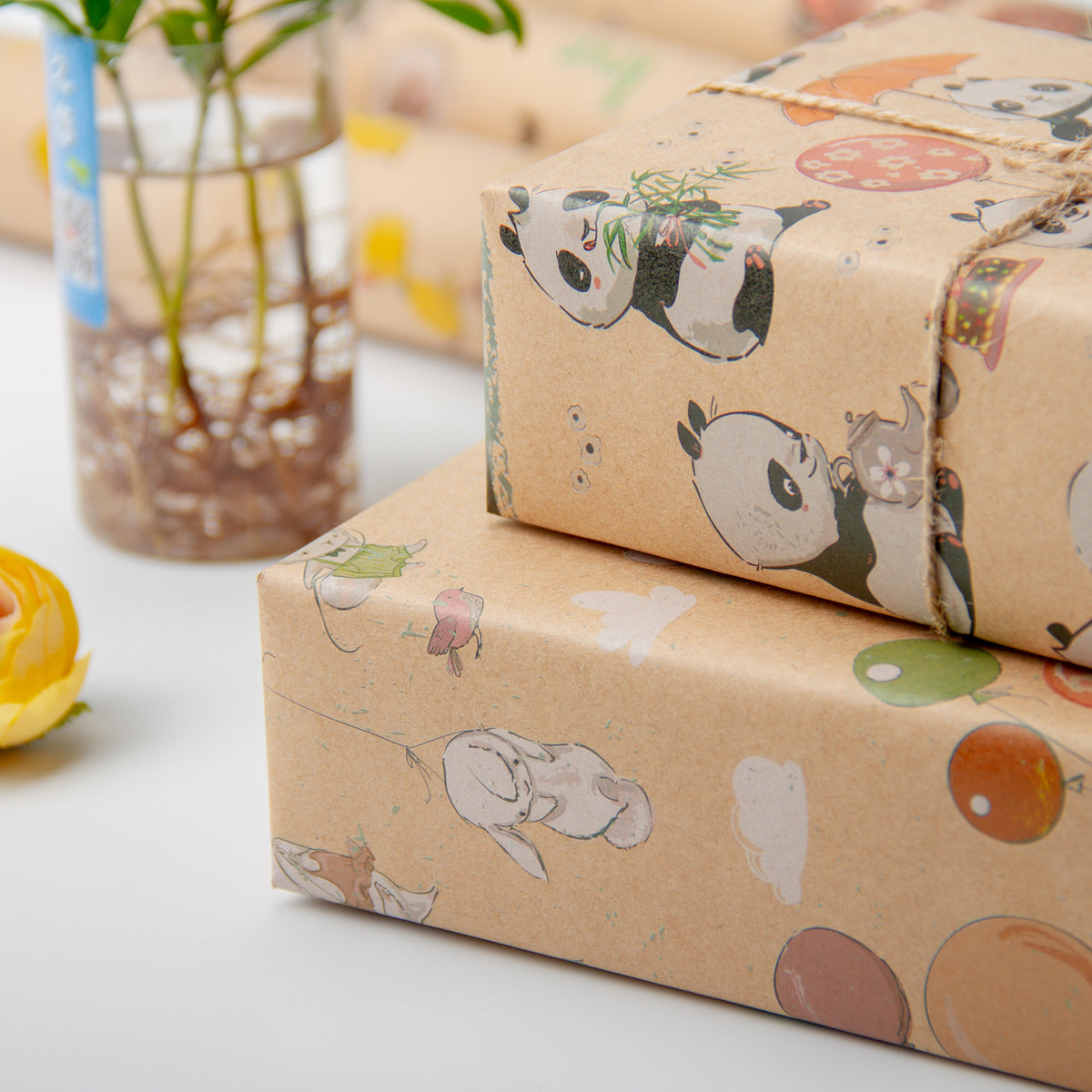 Wrapaholic- Animal-Party -Wrapping Paper Sheet-5