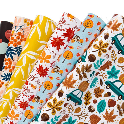 Wrapaholic-Autumn-Fall-gift-wrapping-paper-sheets-1