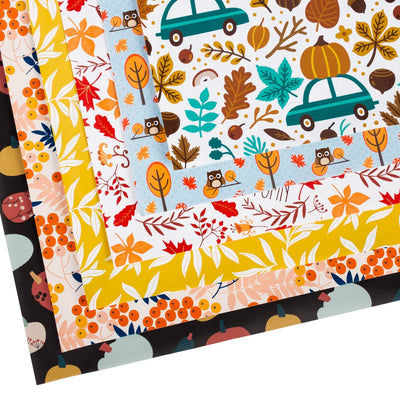 Wrapaholic-Autumn-Fall-gift-wrapping-paper-sheets-2