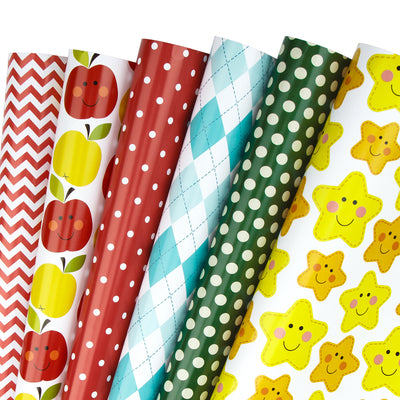 Wrapaholic-Back-to-School-Wrapping-Paper-Sheets-1