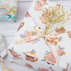 Wrapaholic- Beautiful-Pink Floral-with-Gold-Foil-Design-Gift- Wrapping-Paper -Roll-3