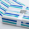 Wrapaholic-Blue-Navy-and-Grey-Lines-Print- Gift-Wrapping-Paper-Roll-5