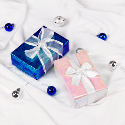 Wrapaholic-Blue-Paper-with -Rainbow-Shiny -Gift-Wrapping-Paper-Roll-5