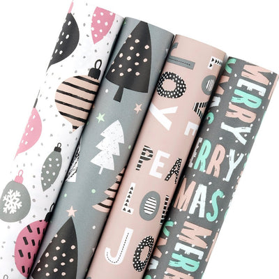 Wrapaholic-Christmas-Joy-Balloon-Tree-Gift-Wrap-1