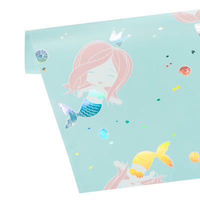 Wrapaholic-Cute- Mermaid-Design-Gift-Wrapping-Paper-Roll-3