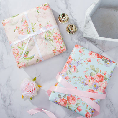 Wrapaholic-Different-Flower-Design-Wrapping-Paper-Sheets-3