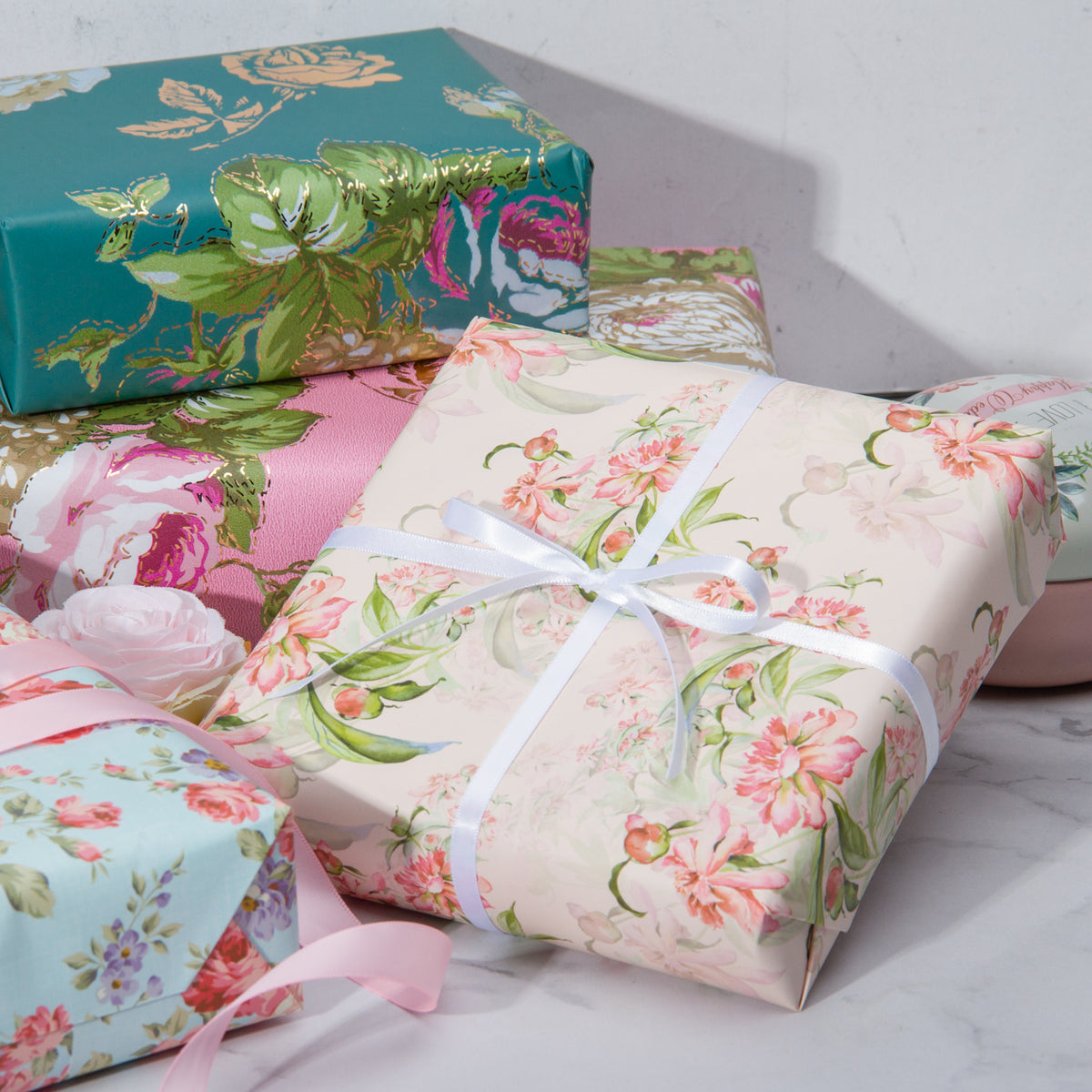 Wrapaholic-Different-Flower-Design-Wrapping-Paper-Sheets-2