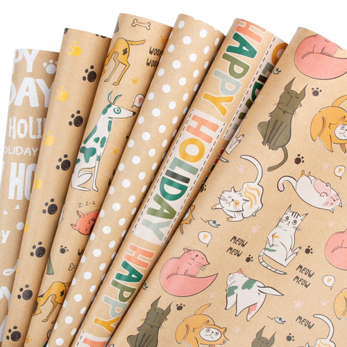 Wrapaholic-Dogcat-Printed-Wrapping-Paper-Sheets-1