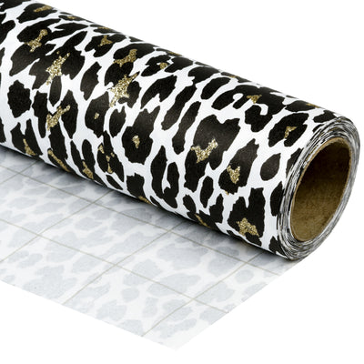 Wrapaholic-Glitter-Design- with-Leopard-Printing-Gift-Wrapping-Pape-Roll-1
