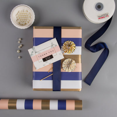 Wrapaholic-Gold-Stripes-Set-Wrapping-Paper-Roll-5