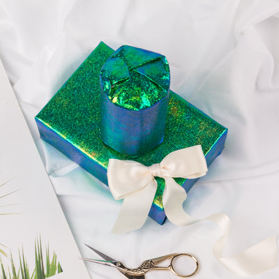 Wrapaholic-Green-Paper-With-Rainbow-Shiny-Gift-Wrapping-Paper -Roll-3