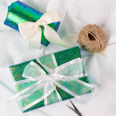 Wrapaholic-Green-Paper-With-Rainbow-Shiny-Gift-Wrapping-Paper -Roll-4