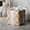 Wrapaholic-Kraft- Gift- Wrapping -Paper-Roll -Black -and-White- Geometry-4