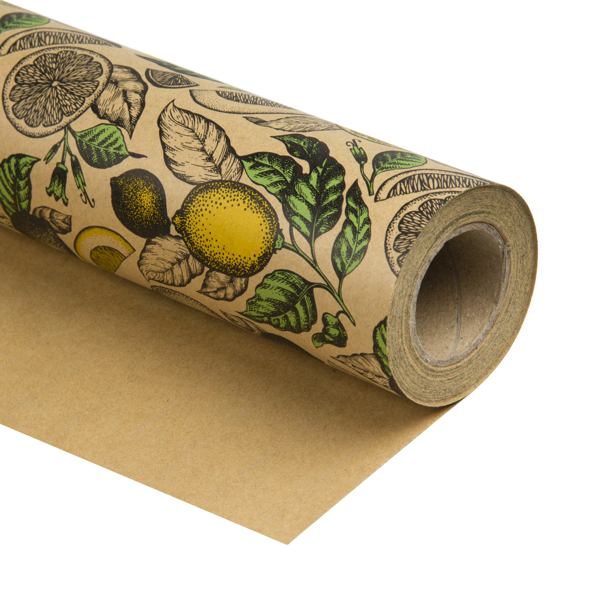 Wrapaholic-Lemon-Kraft-Gift-Wrapping-Paper-2