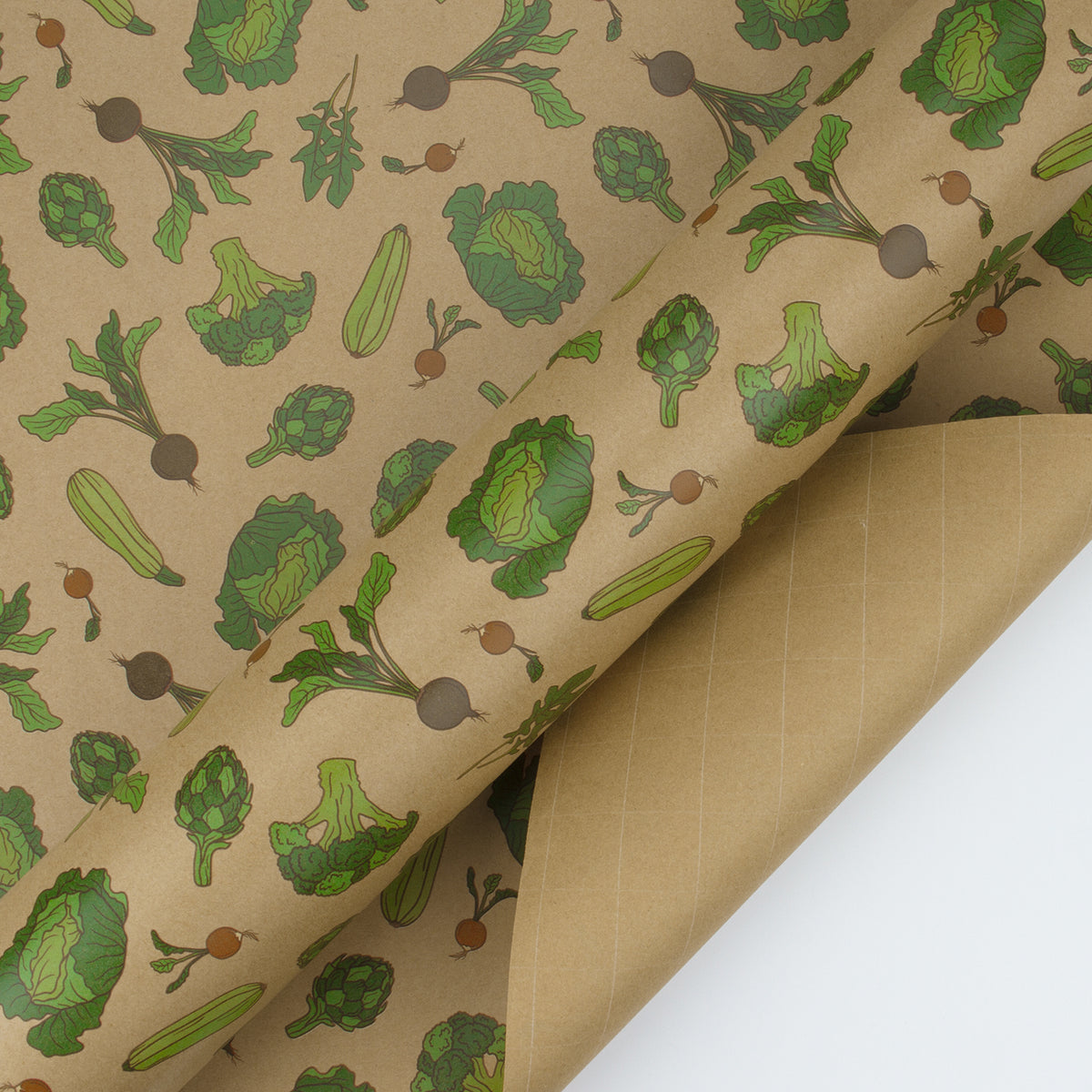 Wrapaholic-Vegetable-Kraft-Gift-Wrapping-Paper-3