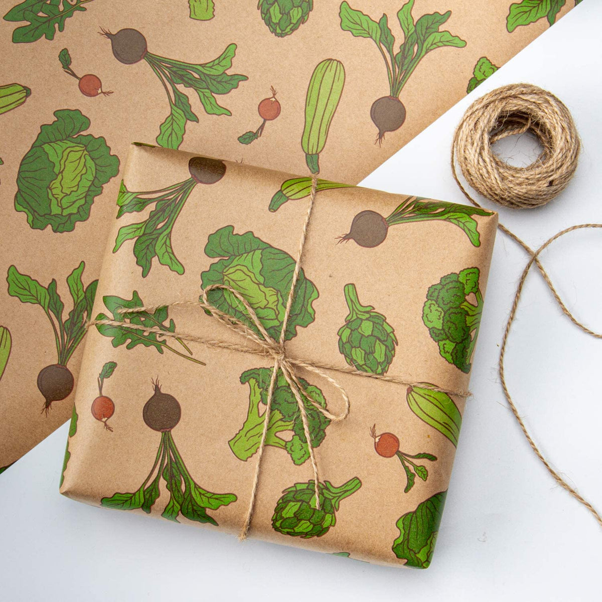 Wrapaholic-Vegetable-Kraft-Gift-Wrapping-Paper-5