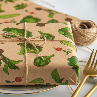 Wrapaholic-Vegetable-Kraft-Gift-Wrapping-Paper-6