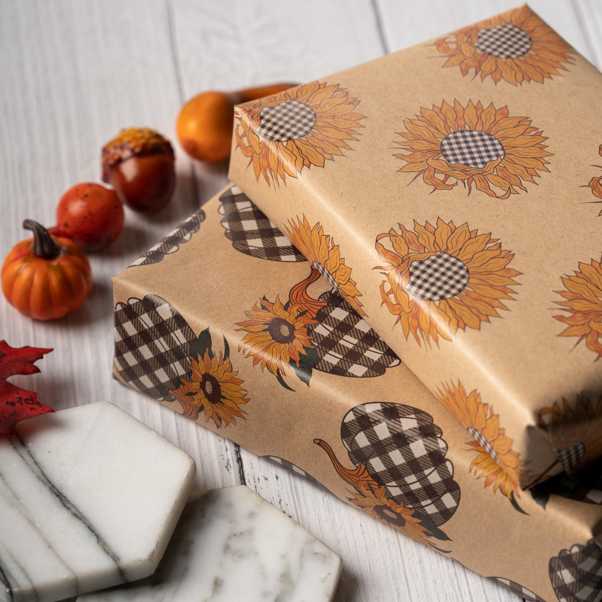 Wrapaholic-Maple-Leaf-Fall-Season-Wrapping-Paper-Sheets-4