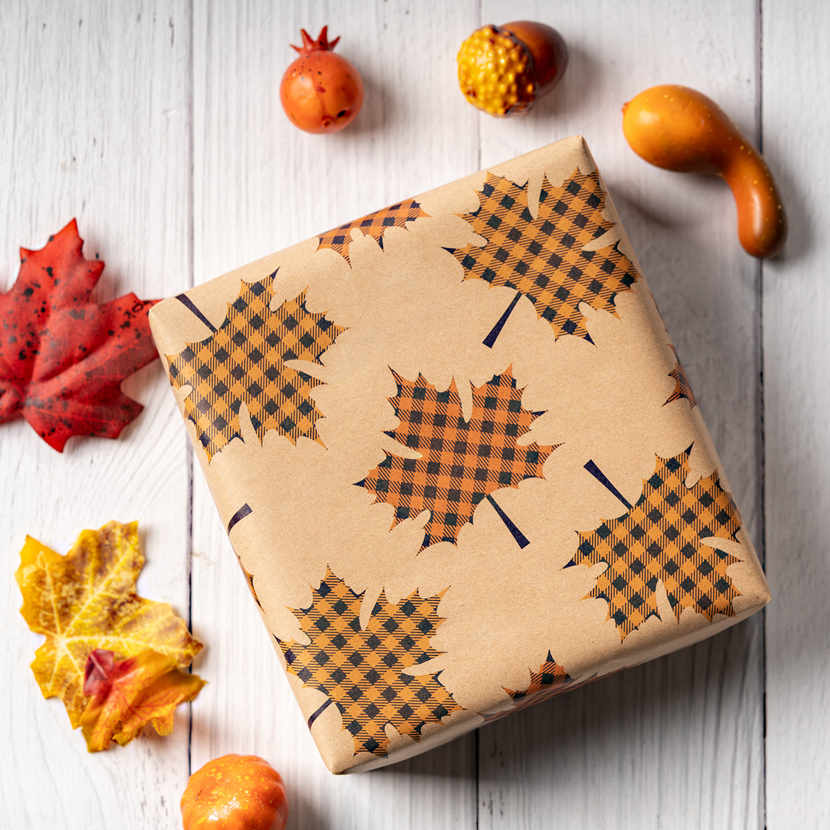 Wrapaholic-Maple-Leaf-Fall-Season-Wrapping-Paper-Sheets-6