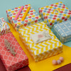 Wrapaholic-Multi-color-Geometry-Wrapping-Paper-Sheets-2
