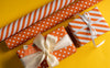 Wrapaholic-Orange-and- Stripe-Design-Reversible-Gift-Wrapping-Paper-6